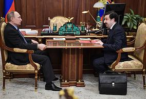 Владимир Путин и Владимир Мау