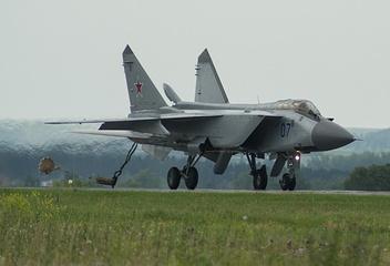 MiG-31 jet