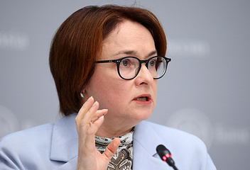 Russian Central Bank's chief Elvira Nabiullina
