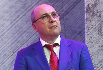 Президент хоккейного клуба ЦСКА Игорь Есмантович