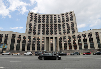 Здание Внешэкономбанка в Москве