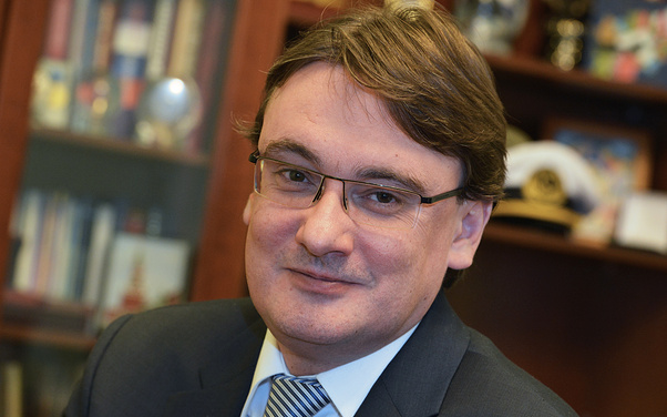 Директор консульского департамента МИД России Евгений Иванов