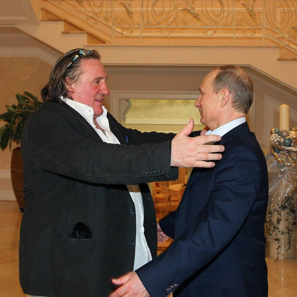 January 3, 2013, President Vladimir Putin signed a decree on granting citizenship to famous French actor Gerard Depardieu