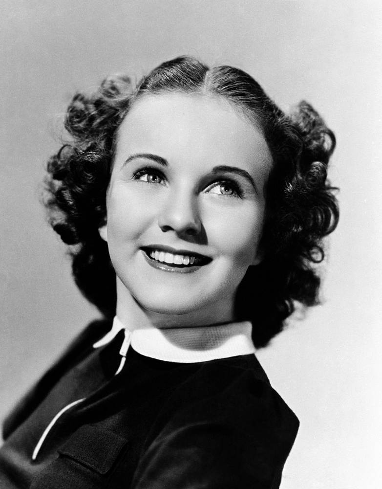 April (exact date unknown). Hollywood actress of 1930-1940s Deanna Durbin passes away