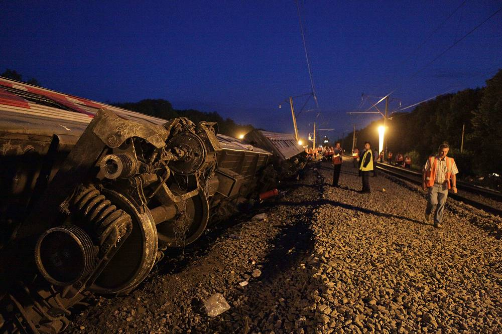 On Jul. 8 2013 a Russian passenger train derailed while traveling from Siberia to Sochi, the future Olympic city on the Black Sea. More than 70 people were injured in the accident