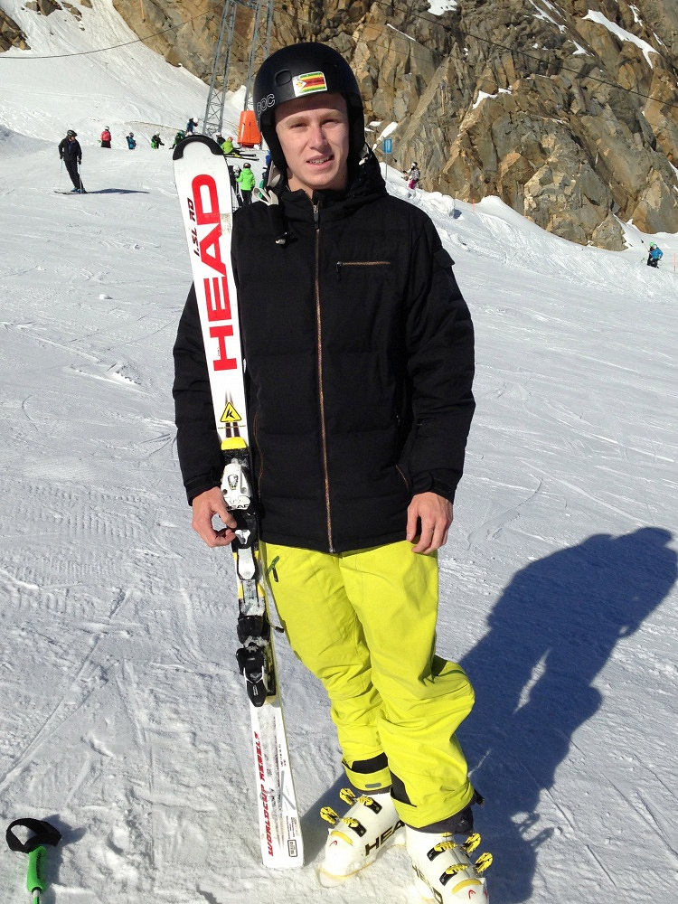 Luke Steyn - who will compete in the slalom and giant slalom disciplines - is the only sportsman in the team of Zimbabwe, respectively the flag bearer