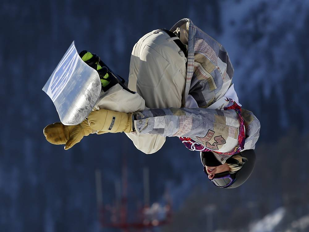 Sage Kotsenburg's jump