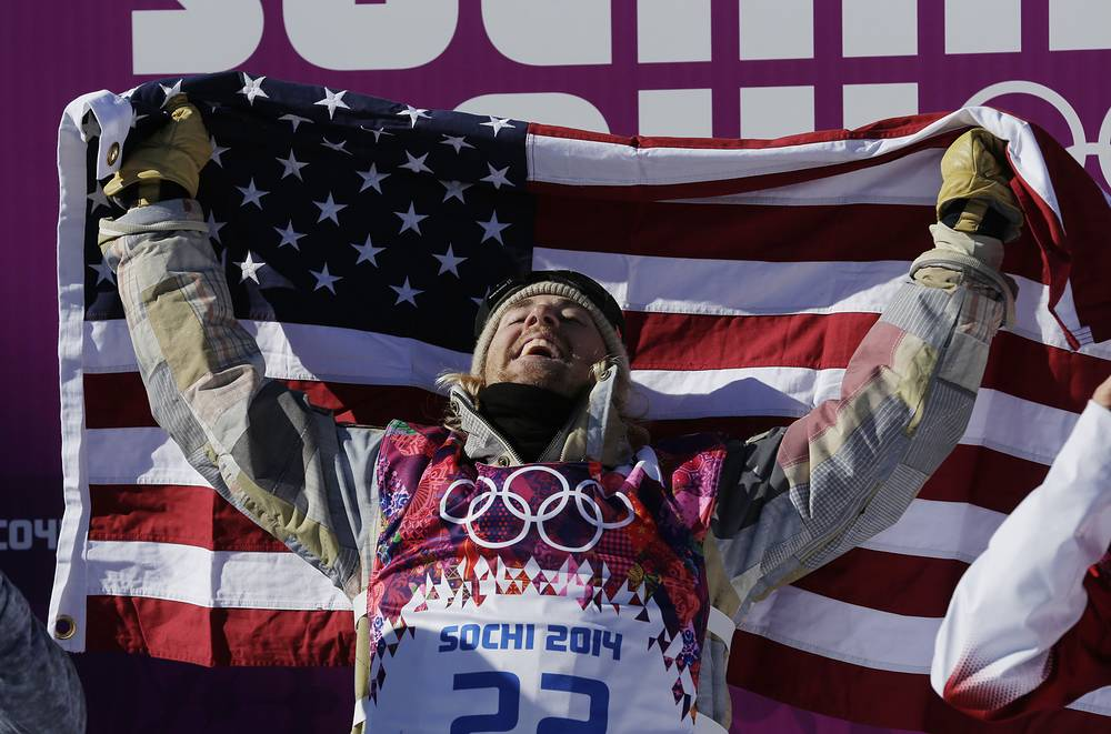 Here he is, the first ever Slopestyle Olympic Champion