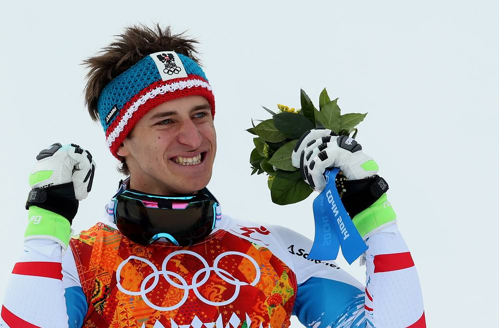 Gold medalist Matthias Mayer