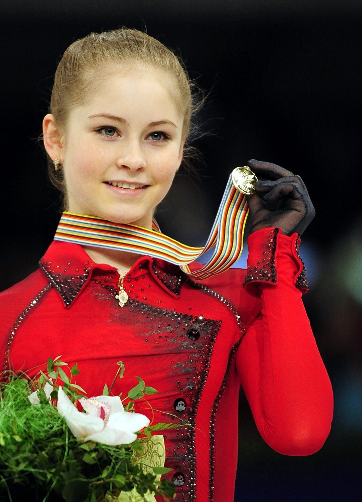 Lipnitskaya became European champion in Budapest, 2014