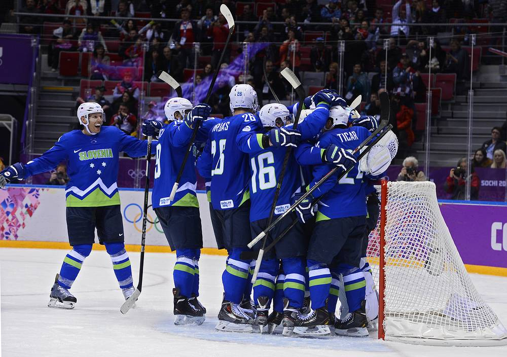 Slovenia and Austria will compete for the right to play Sweden