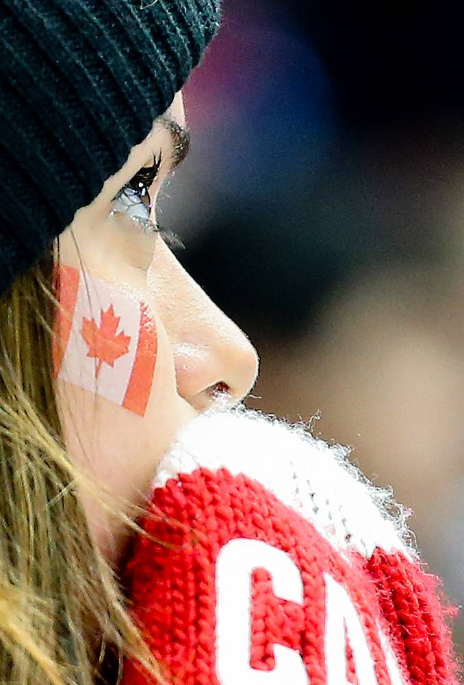 Canadian supporter