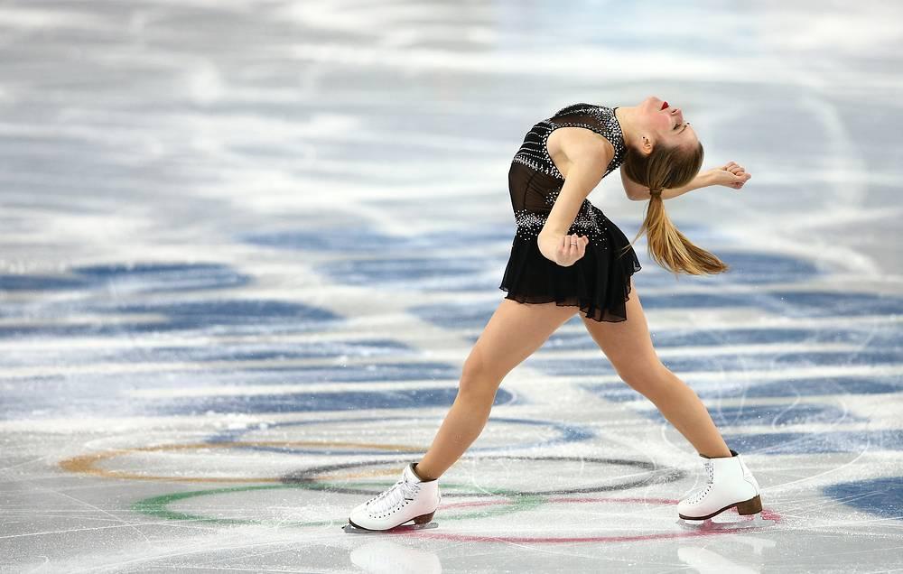 Ashley Wagner of USA