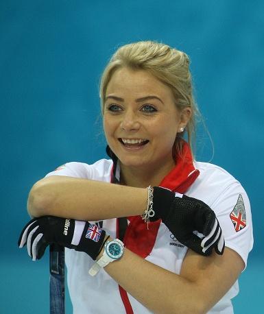 British curler Anna Sloan (23)