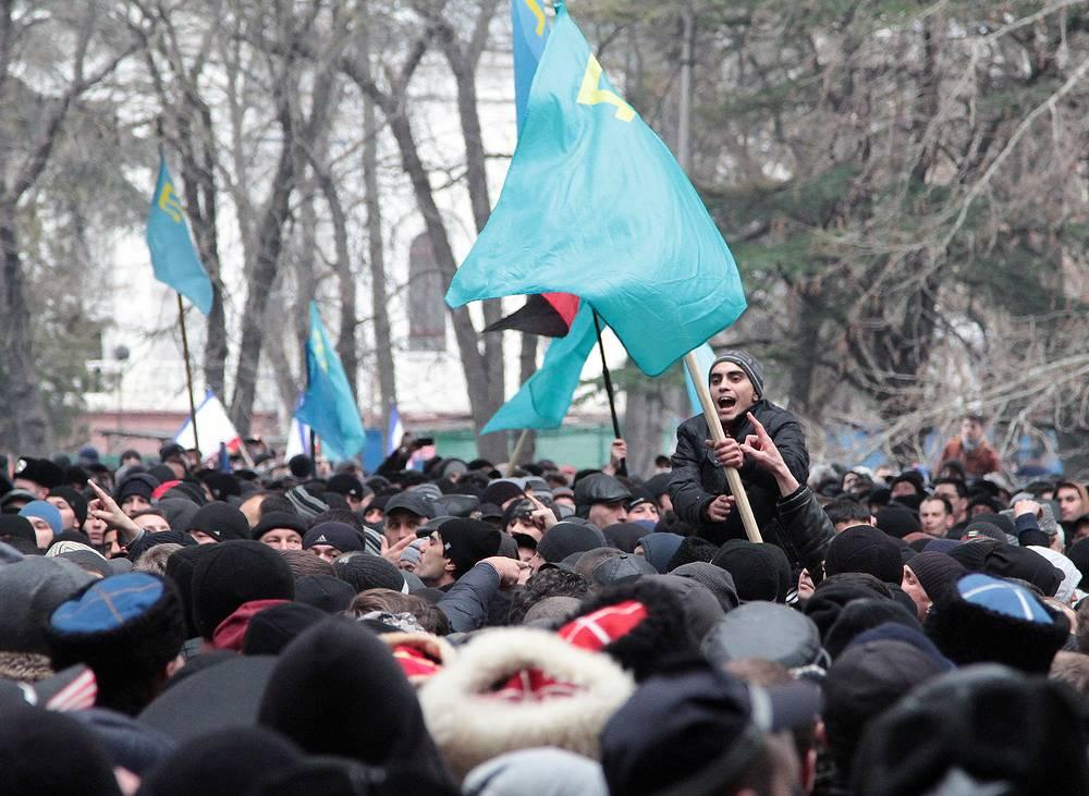 Crimean Tatar activists