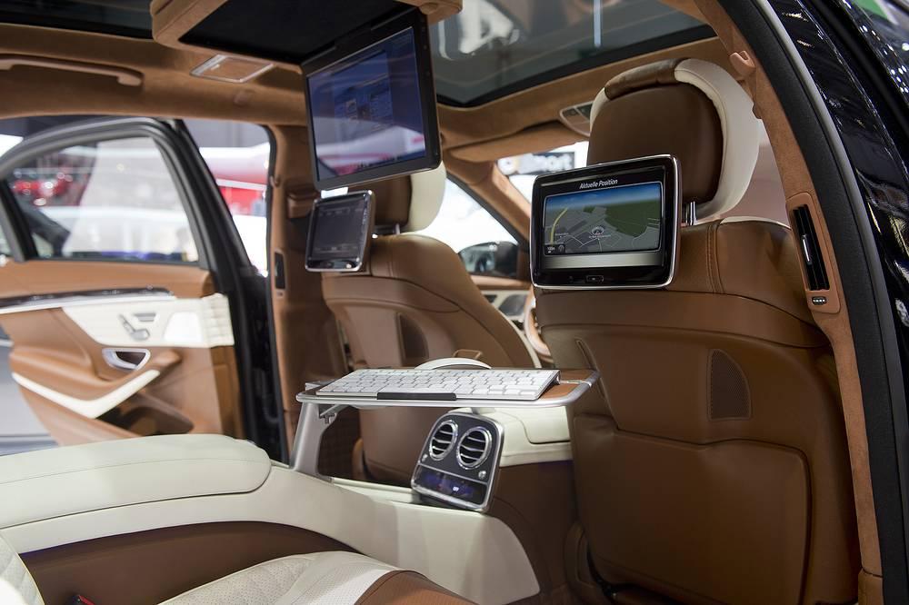 The interior of a New Brabus 850