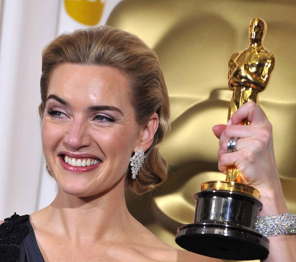 In 2009 Kate Winslet receied Oscar for Best Performance by an Actress in a Leading Role for The Reader'