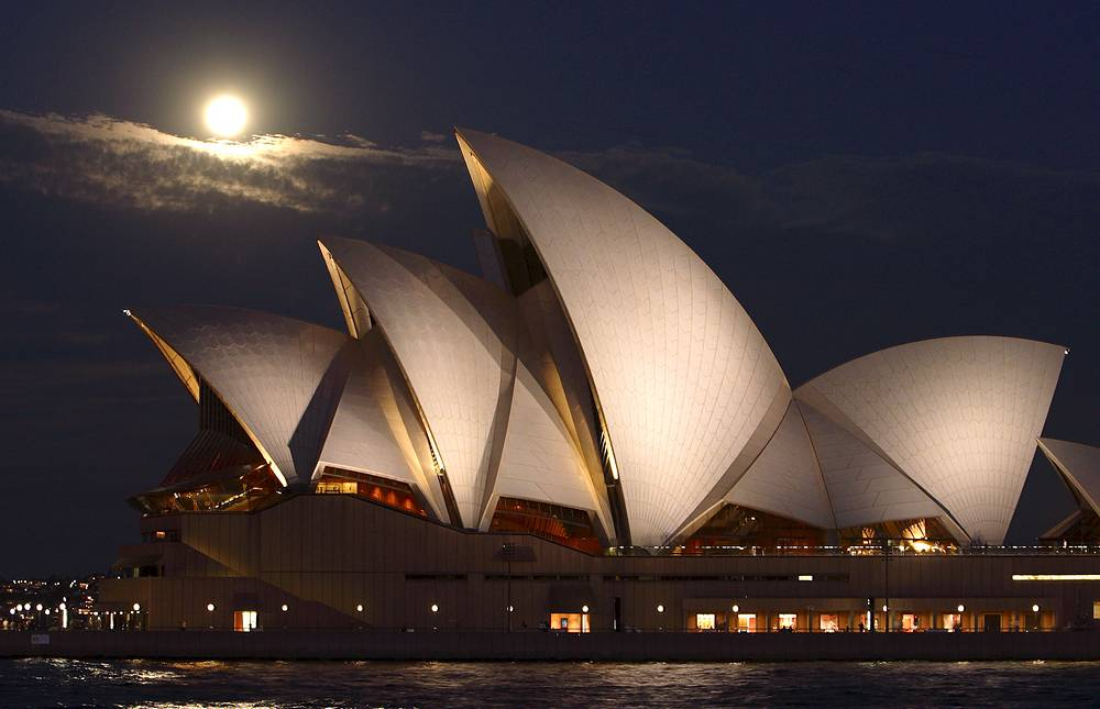 The Sydney Opera House is recognized as one of the 20th century's most distinctive buildings