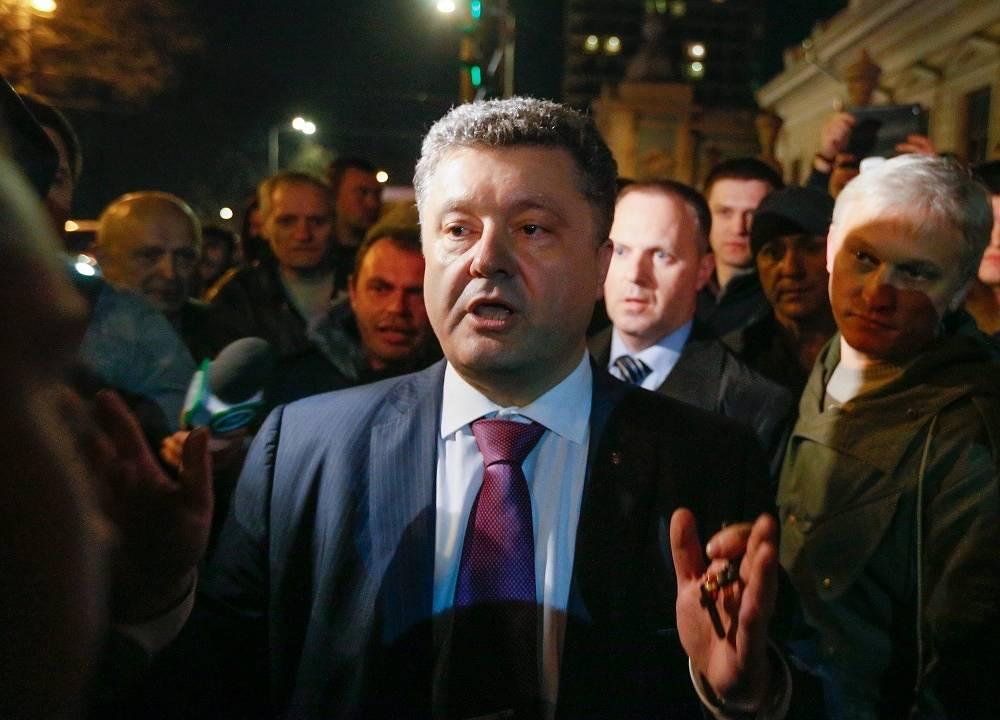 Business tycoon Petro Poroshenko