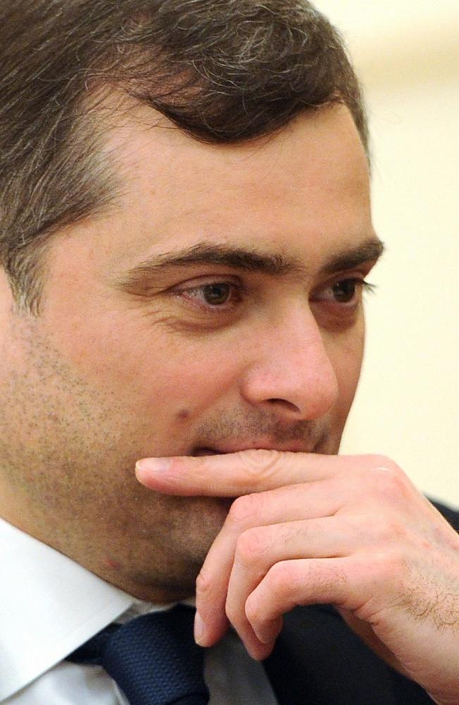 Presidential aide Vladislav Surkov