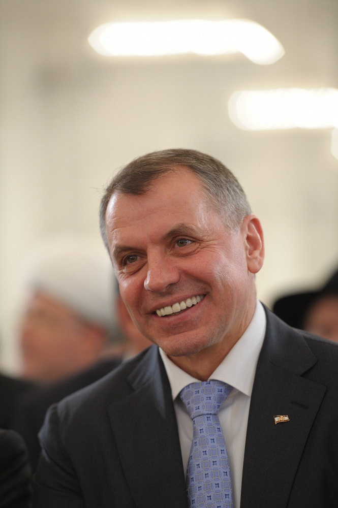 Crimea's Supreme Council Speaker Vladimir Konstantinov