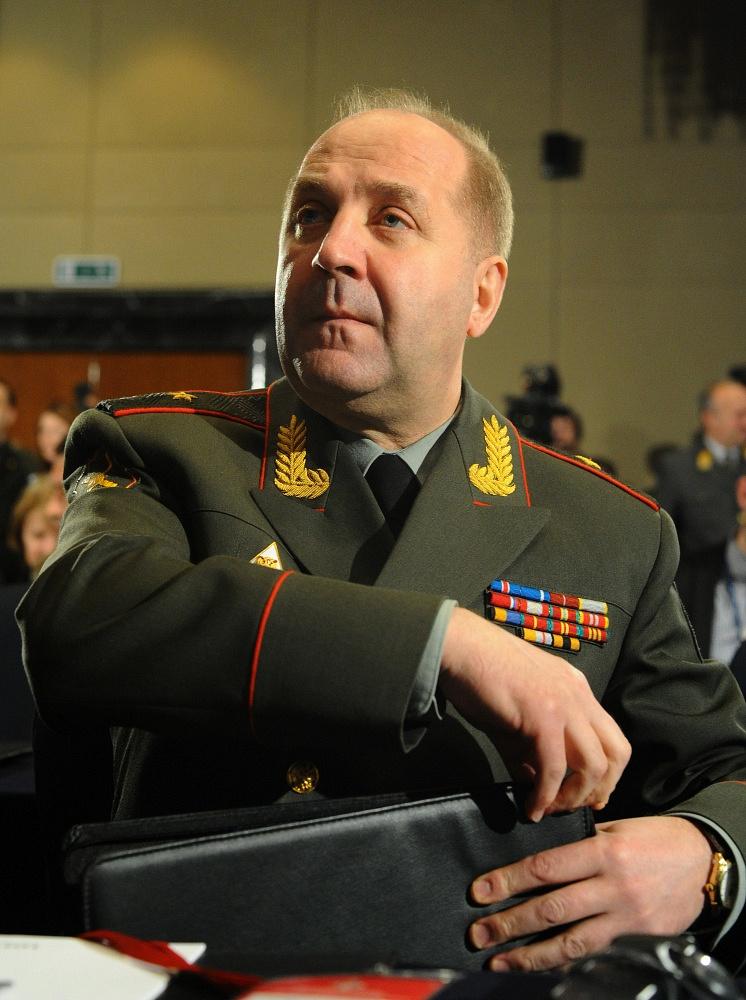 Head of the main intelligence directorate of the Russian General Staff Igor Sergun