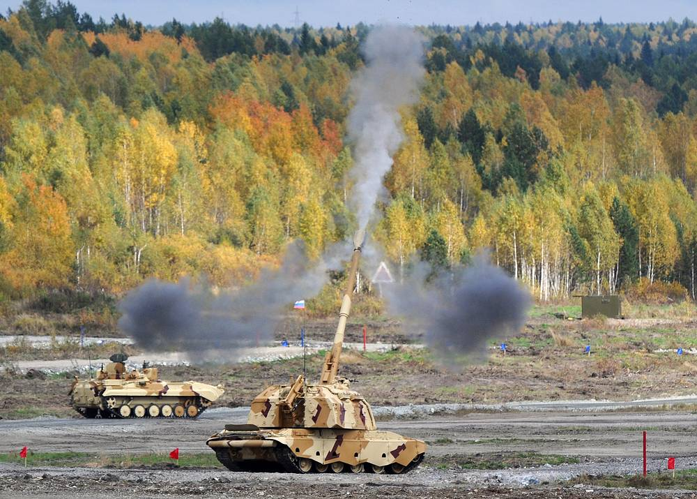Self-propelled artillery systems Msta-S