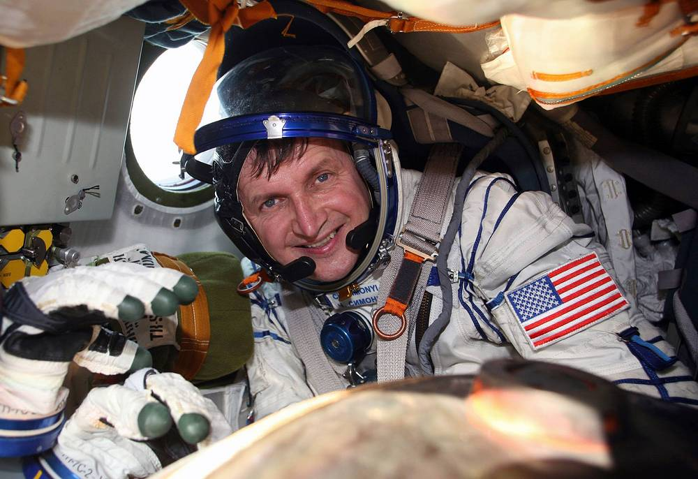 Charles Simonyi is both the fifth and the seventh tourist at the ISS. His second flight cost him $35 mln and lasted from March 29 to April 8 2009. He flew with a Soyuz TMA-14
