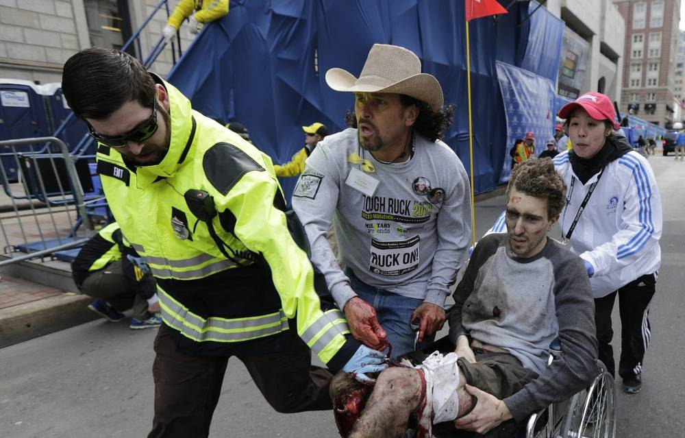 The first explosion occurred an hour after the first participants of the marathon had crossed the finish line. The second followed seconds after
