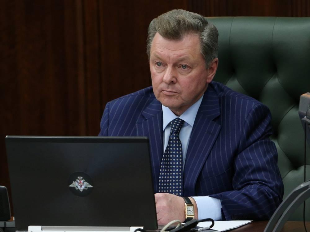 Permanent Presidential Representative in Crimea Oleg Belaventsev