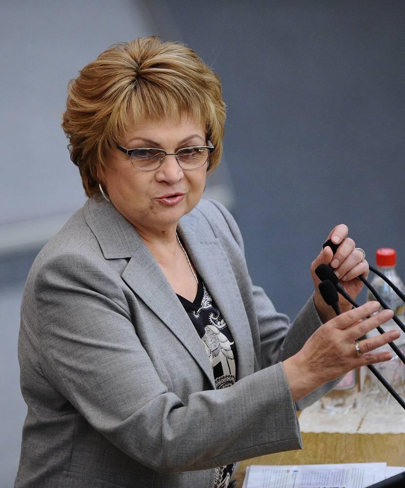 Vice-Speaker of the State Duma Lyudmila Shvetsova