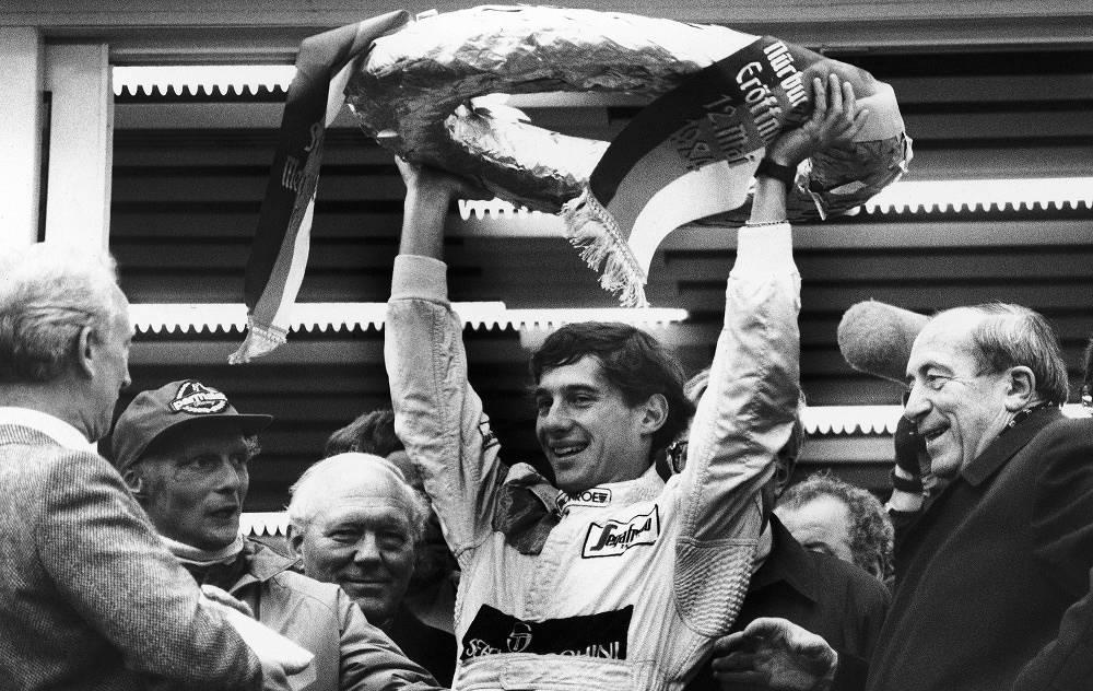 Ayrton Senna was born on March 28, 1960 in São Paulo
