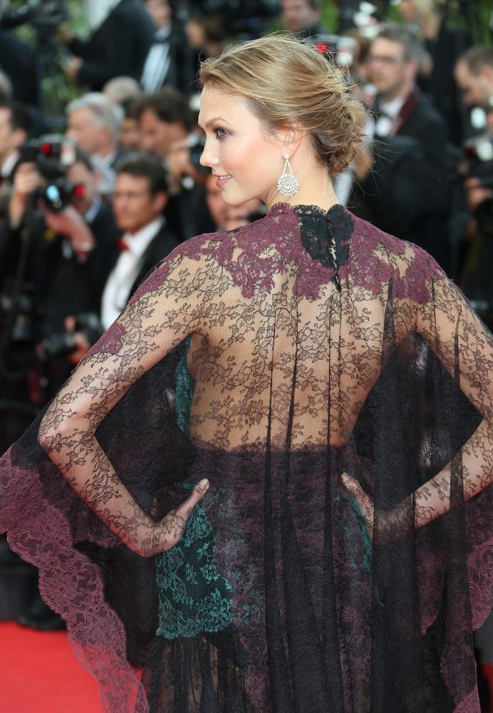 US model Karlie Kloss