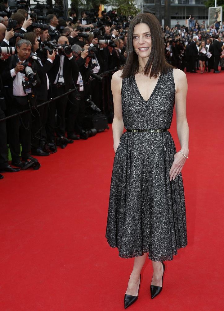 French-Italian actress Chiara Mastroianni