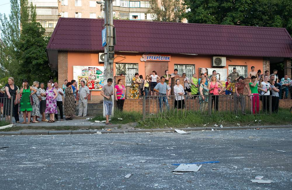 Kramatorsk residents
