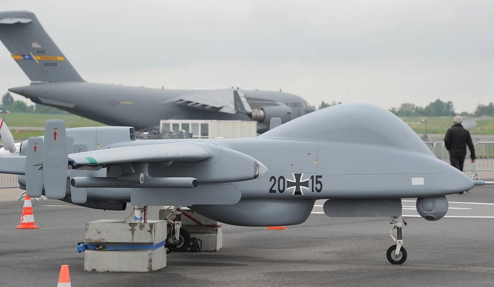 Rheinmetall Heron 1 drone