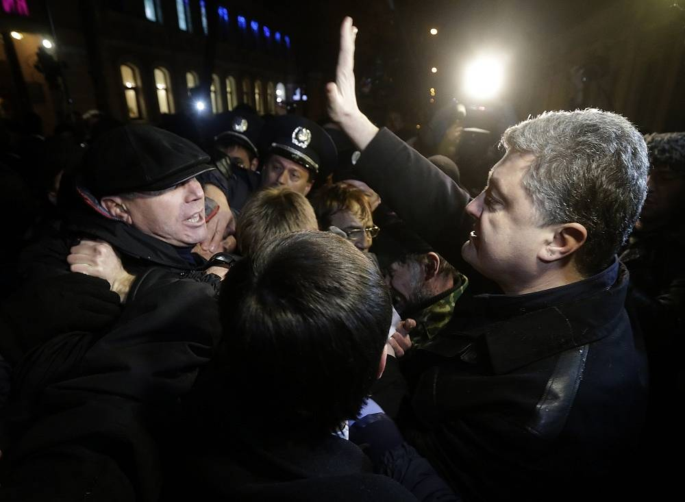 During the recent protests, Poroshenko was a representative of the Ukrainian authorities in Simferopol