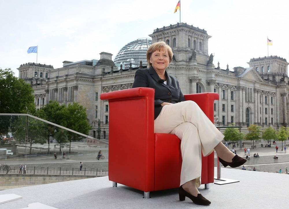 German Chancelor Angela Merkel