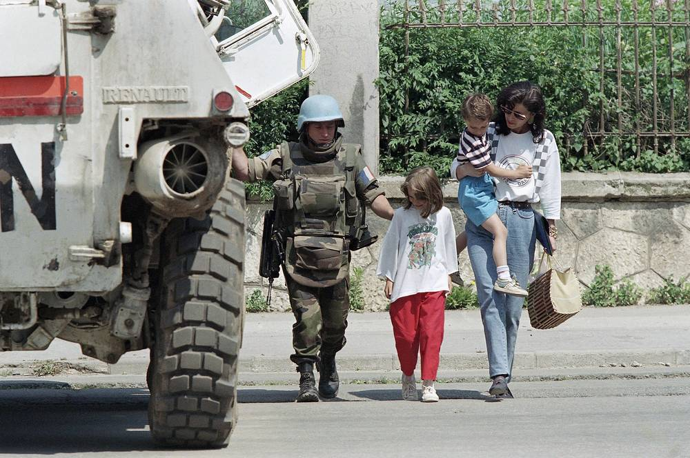 Mission in Bosnia and Herzegovina. The Bosnian War was an armed conflict started as a result of  the breakup of Yugoslavia. The war involved Orthodox Serbs, Muslim Bosniaks, and Catholic Croats. Over 100,000 people were killed in the conflict