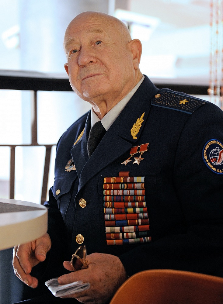 Alexei Leonov in 2010