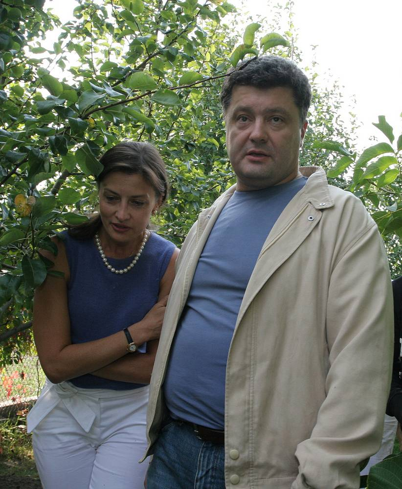 Petro Poroshenko met his future wife when they both were students