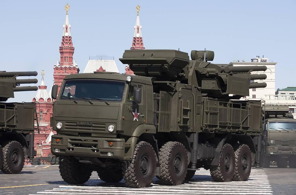 Pantsyr-S1 air defense system