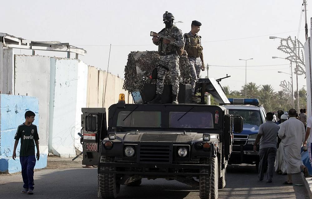 A patrol in Baghdad