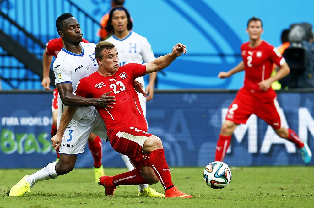 Switzerland - Honduras