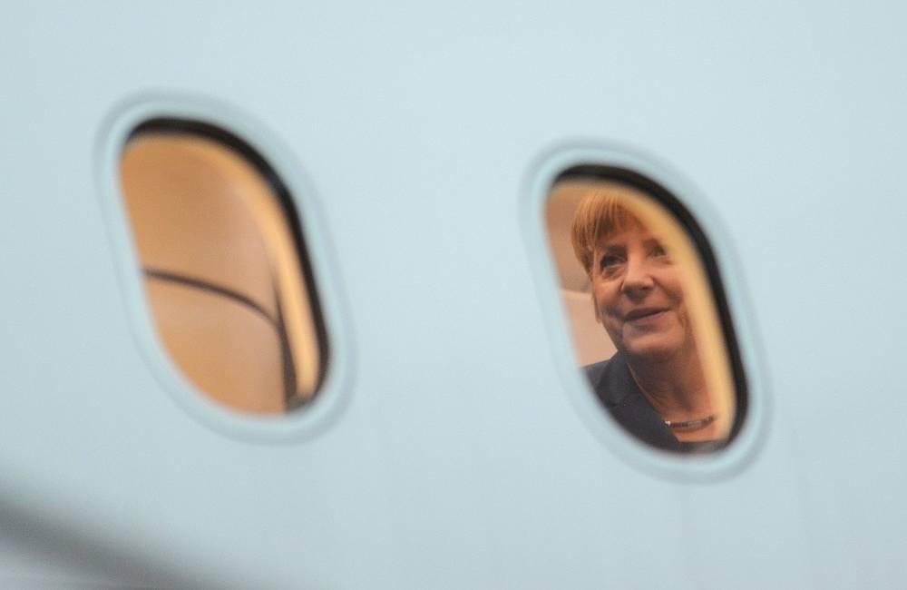 German Chancellor Angela Merkel in 2013