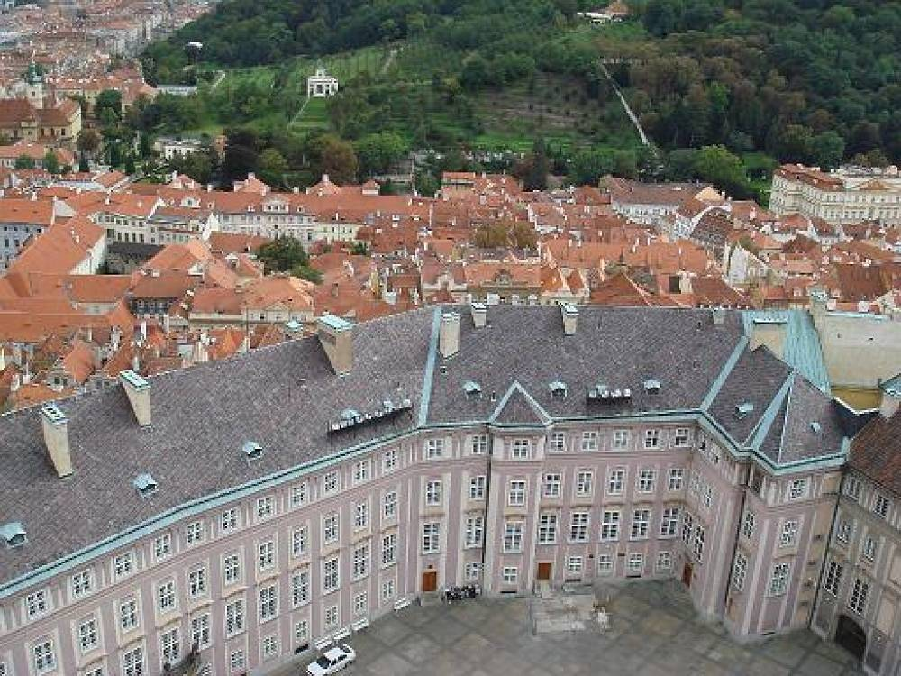 Prague Castle is the biggest presidential residence in the world. Tourists can see the working space of the Czech leader twice a year - the Saturday after the main national holidays on May 8 and October 28