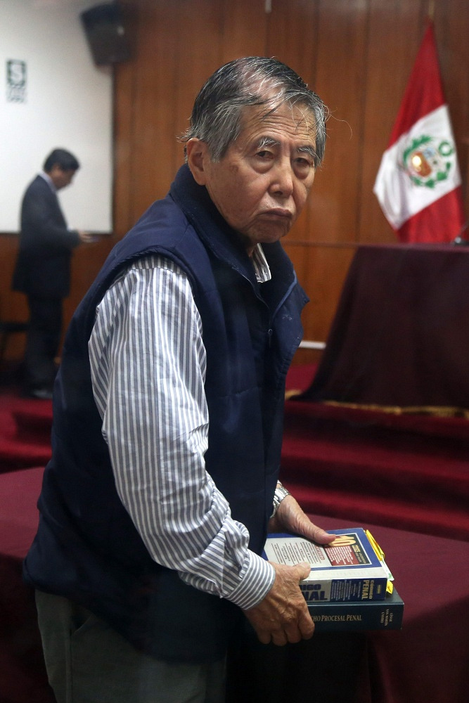 Peru's ex-president Alberto Fujimori is currently serving a prison term for corruption and human rights abuse