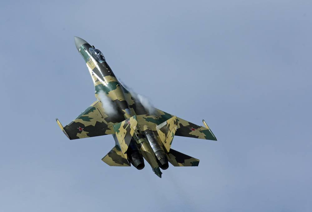 Su-35 multipurpose fighter