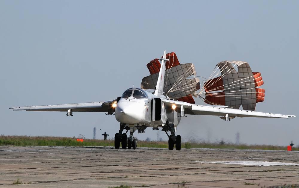 Su-24 bomber