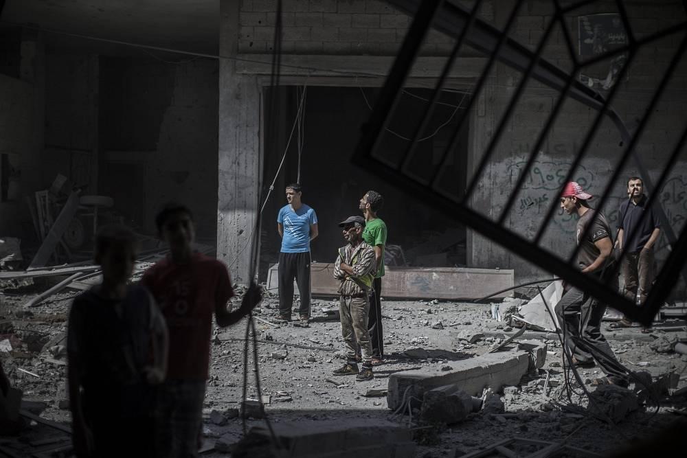 In the Gaza Strip